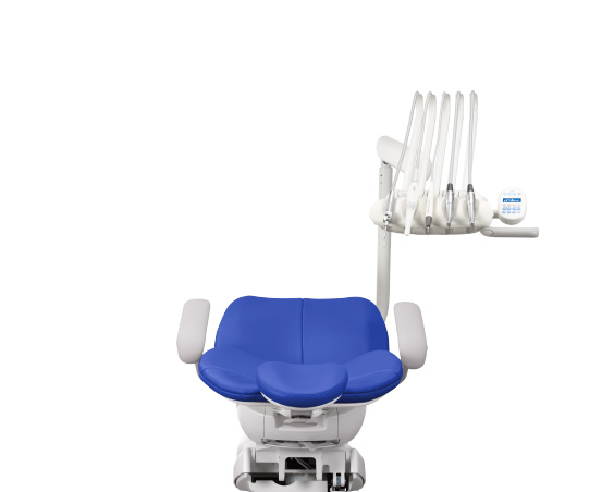 A-dec 300 dental chair with continental delivery system