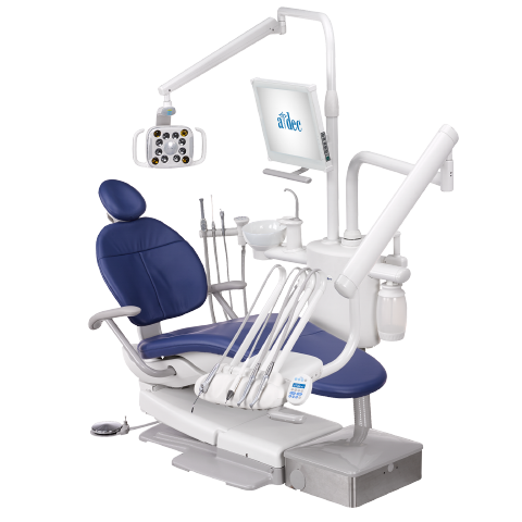 A-dec 300 dental chair and dental equipment