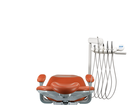 A-dec performer dental chair with delivery system