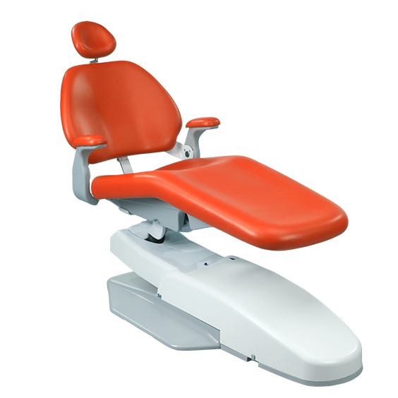 Performer dental chair in patient entry and exit position