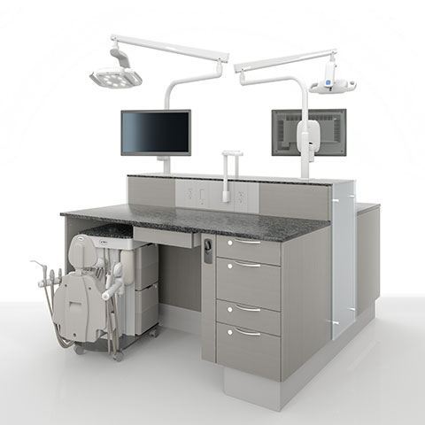 A-dec dental equipment simulator